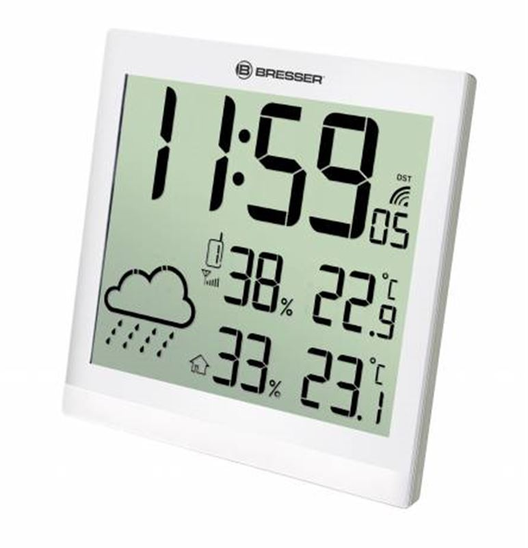 Bresser TemeoTrend JC LCD RC Weather Station-white