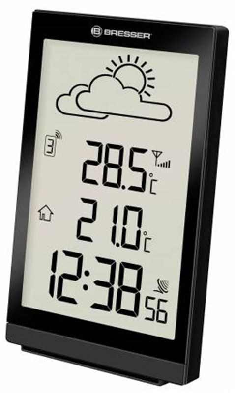 Bresser TemeoTrend ST RC Weather Station-black