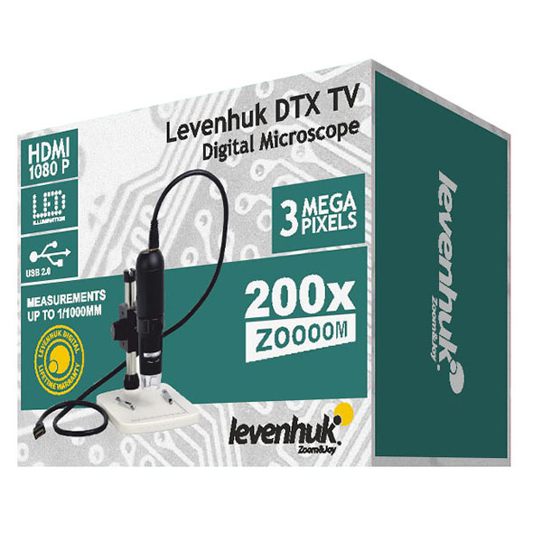 Mikroskop Levenhuk DTX TV Digital
